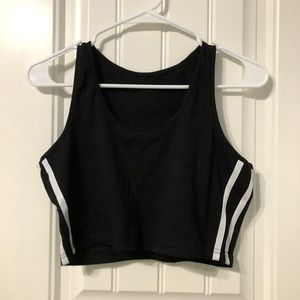 Tops - Women's Sporty Athletic Top and Shorts Set